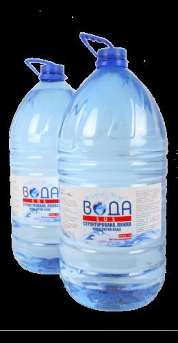 Щелочная вода pH 8,3-8,1  20 л